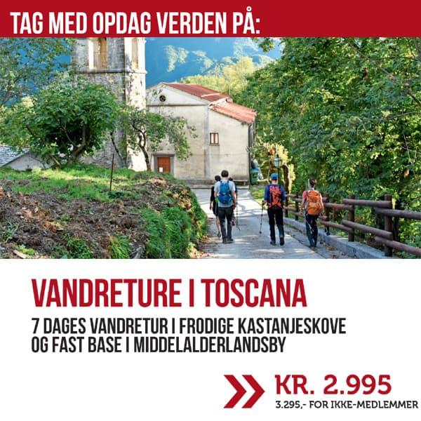 VANDRETURE I TOSCANA