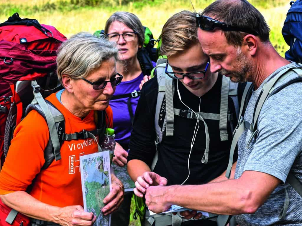 kursus i friluftsliv og vandring