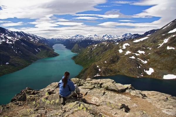 Vandring I Jotunheimen Vandring Laes Om Norge Opdag Verden