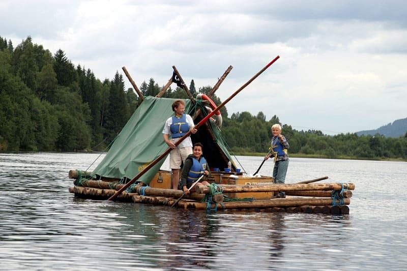 Tømmerflådefærd på Klareelven | Sejlads | Sverige | Opdag Verden