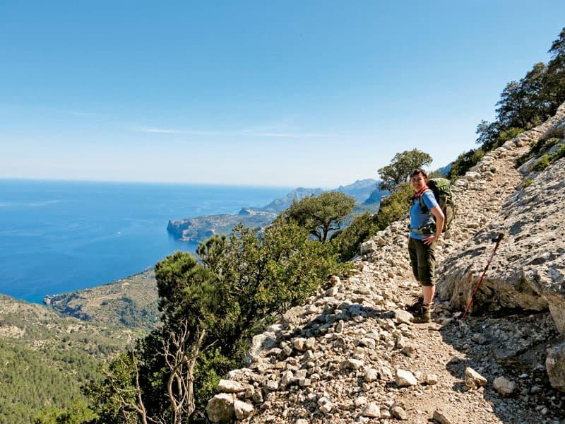 Mallorca Pa Langs Gr221 Vandring Spanien Opdag Verden