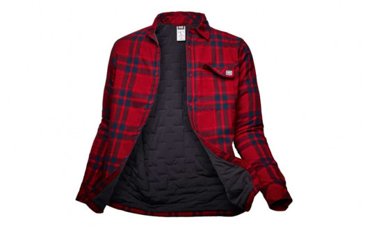 Helly Hansen Lifaloft Insulated Flannel Shirt Jacket